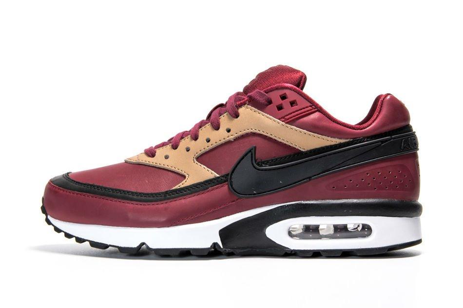 Nike Air Max BW Premium Red Vachetta Tan