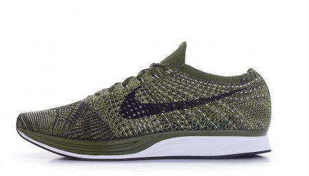 Nike Flyknit Racer em Rough Green
