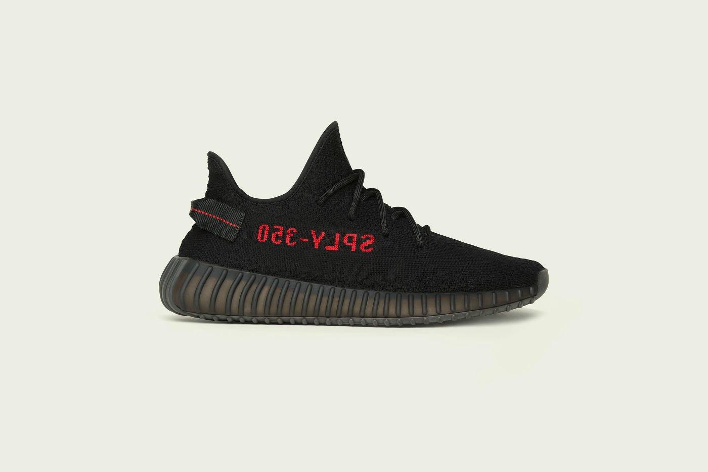 adidas Originals Yeezy Boost V2 Black/Red