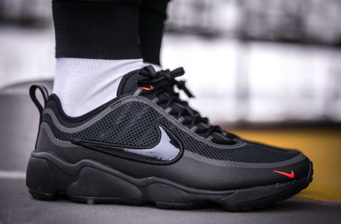 nike air zoom spiridon ultra black