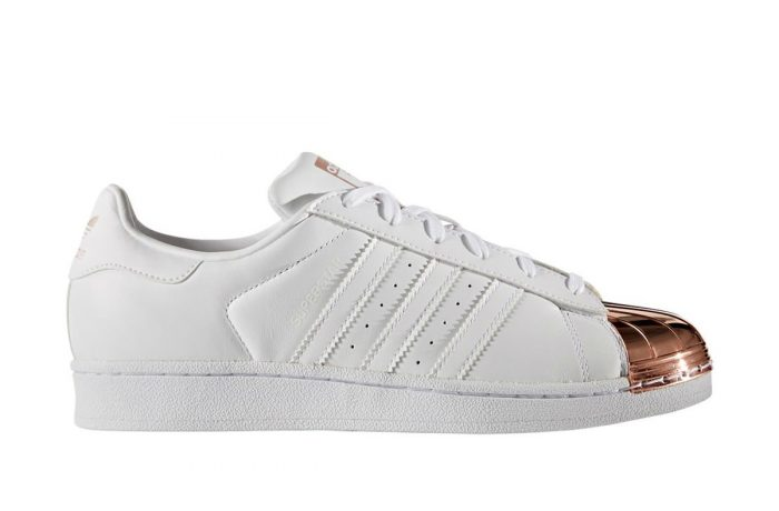 adidas Superstar W Metal Toe White/Copper