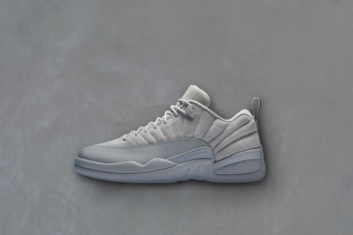 air jordan xii low wolf grey