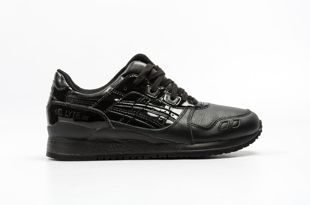 Asics Gel-Lyte III 'Glossy' Triple Black