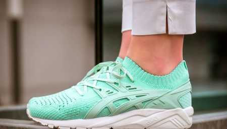 Asics Gel-Kayano Trainer Knit Mint