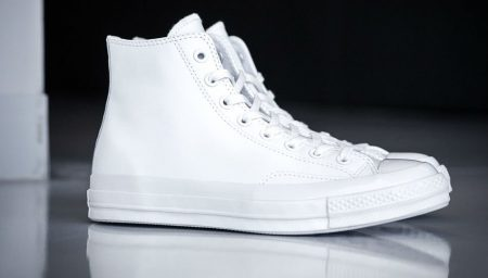 Converse All Star 70's Mono Hi Leather White
