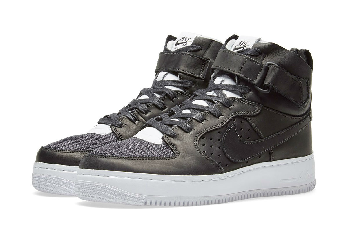140e0302741dcd Nike Air Force 1 Hi CMFT TC SP black and white