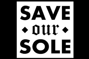 save our sole logo