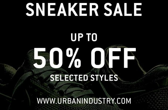 urban industry sneaker sale