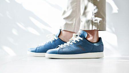 adidas Originals Stan Smith agora em Horween Leather Blue