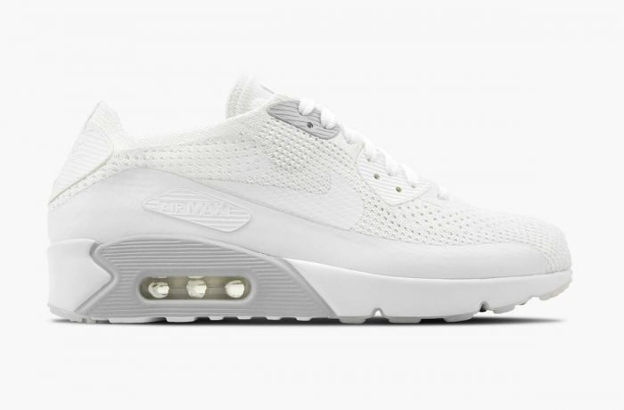 Nike Air Max 90 Ultra 2.0 Flyknit White