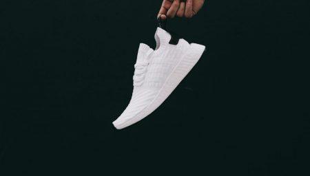 adidas NMD R2 PK White/Black