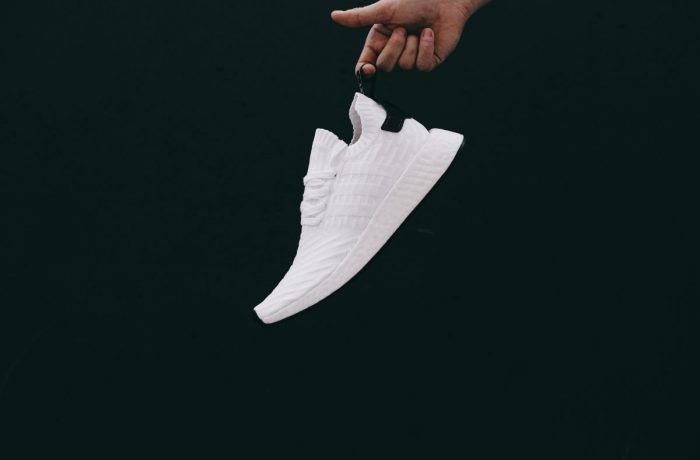 adidas NMD R2 White Black