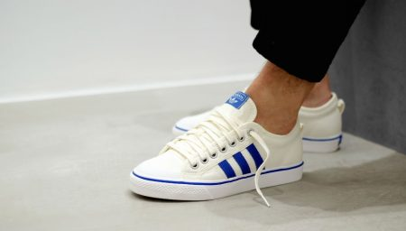 adidas Nizza Off White / Blue