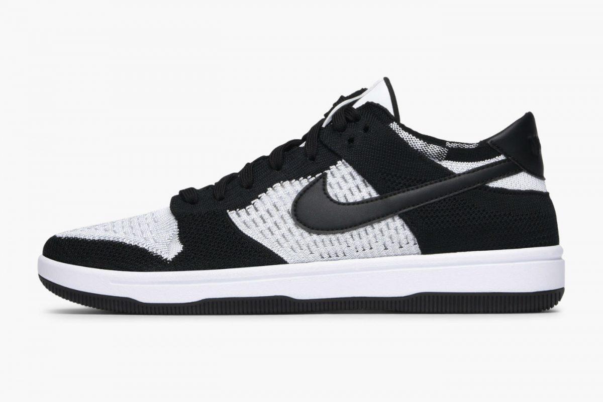Nike Dunk Flyknit White/Black