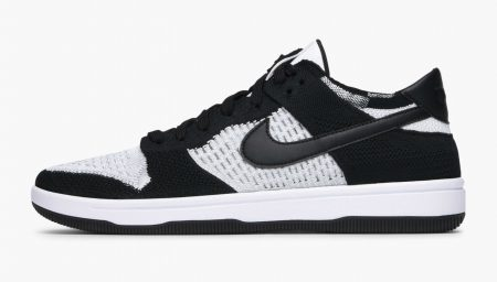 Nike Dunk agora em Flyknit White/Black
