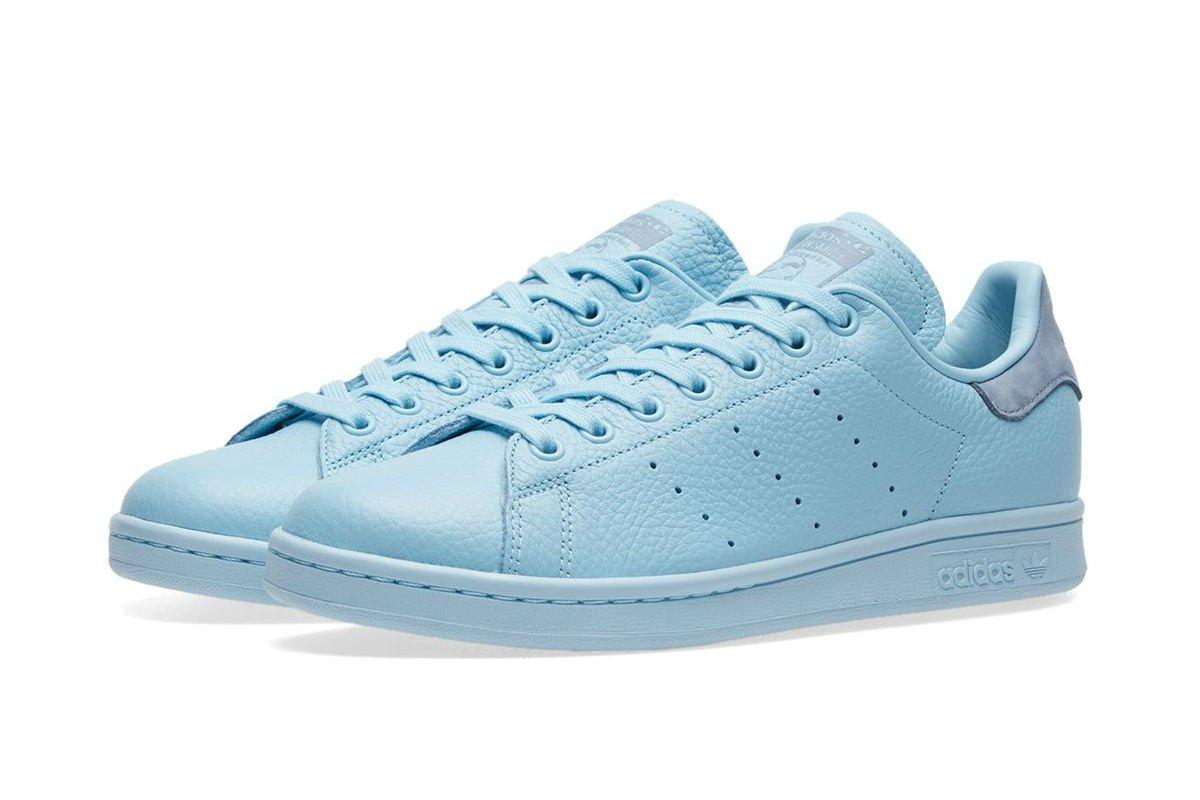 adidas stan smith azul claro