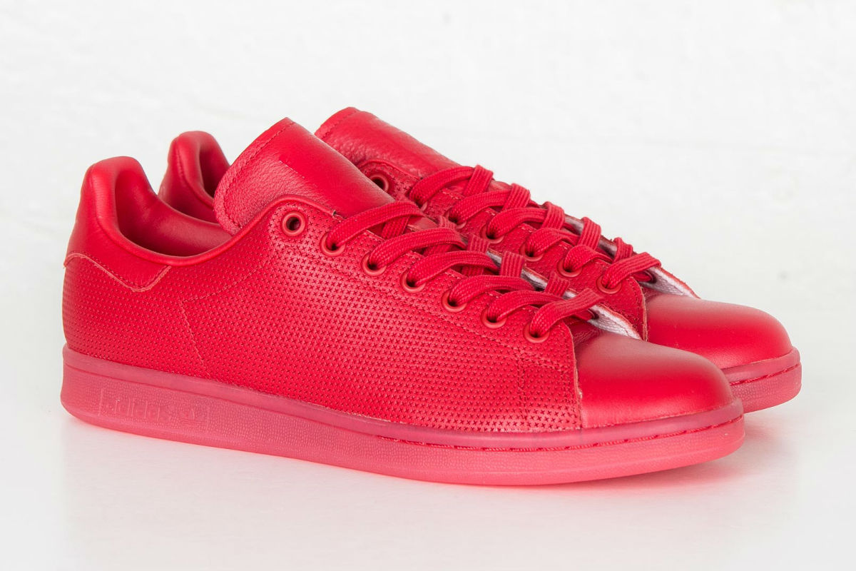 adidas stan smith vermelhos
