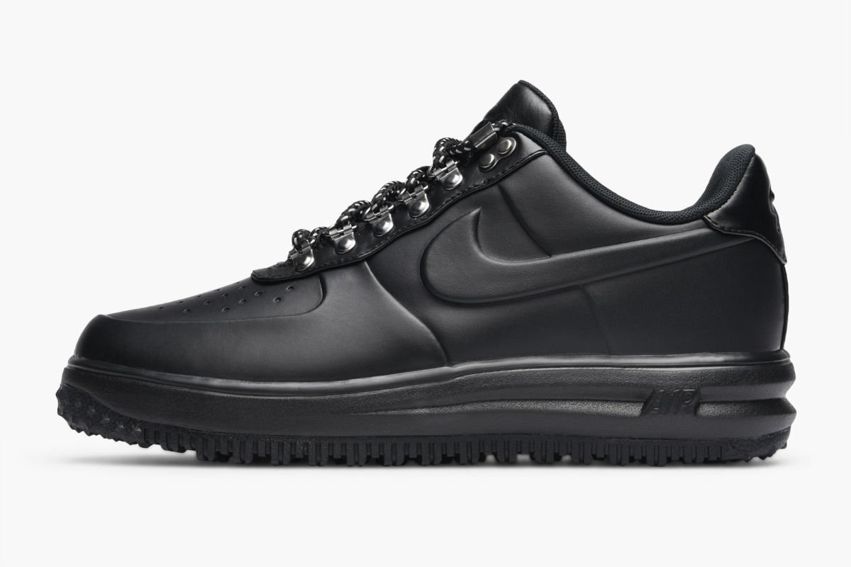 nike lunar force 1 duckboot-low triple black aa1125-001
