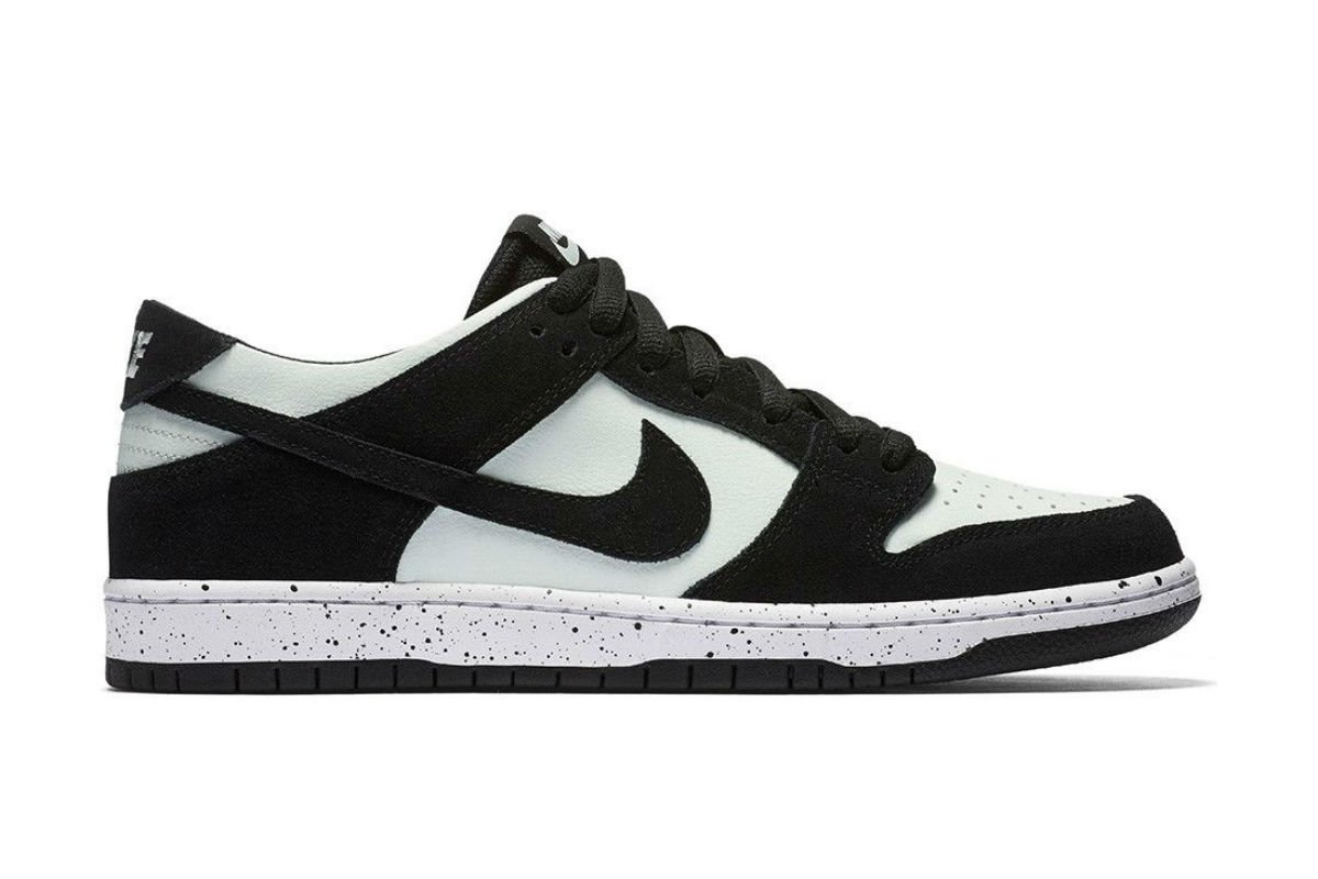 Nike SB Dunk Low Pro Black/Barely Green