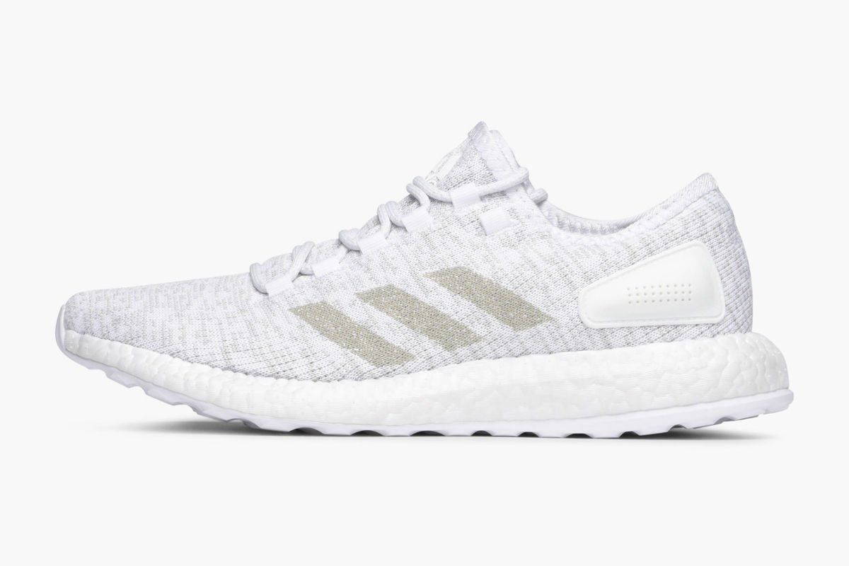 adidas performance pure boost white grey one white s81991