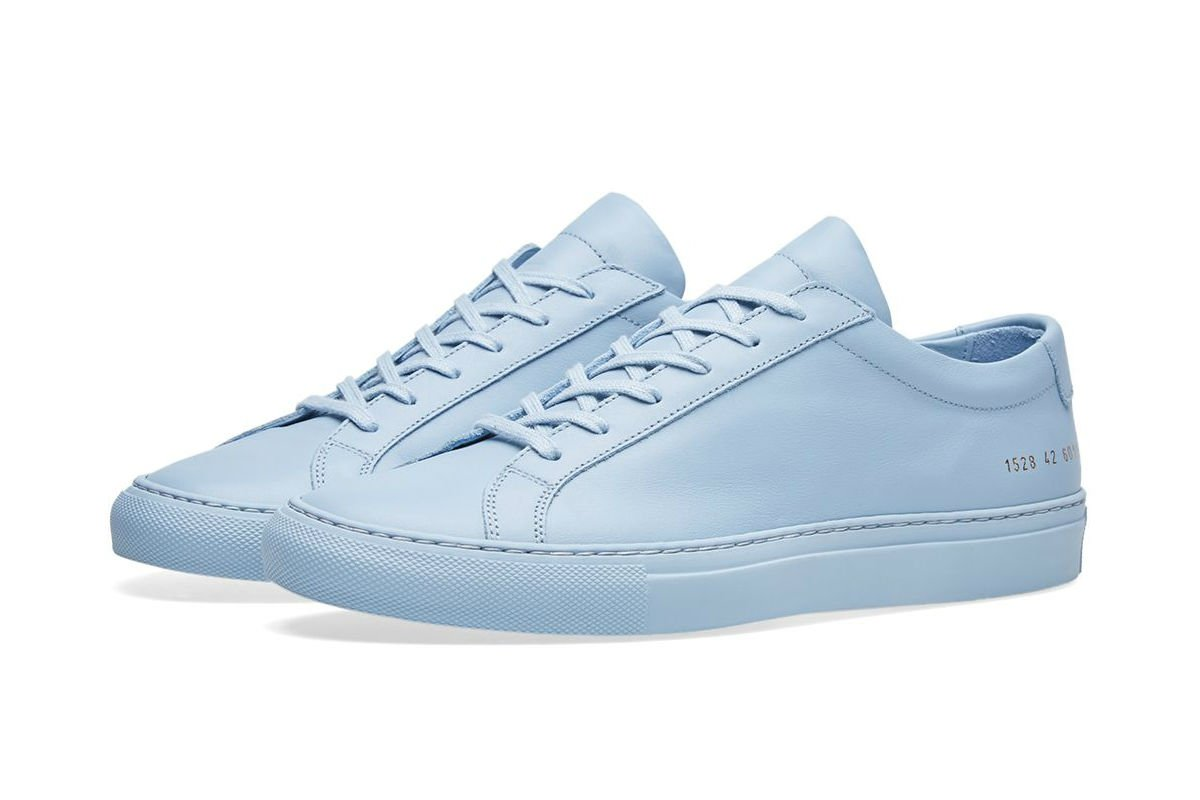 Common Projects Original Achilles Low Powder Blue