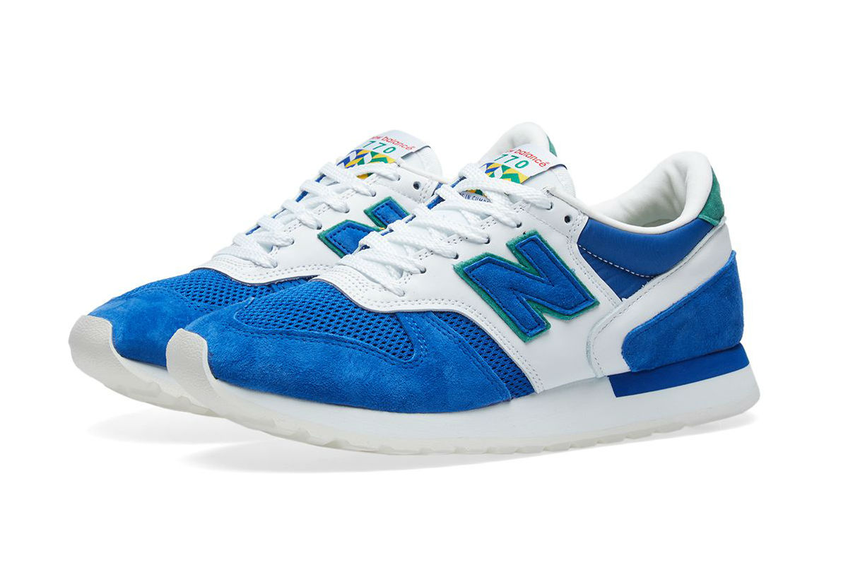New Balance M770CF Made in the UK 'Cumbrian Flag' Blue/White