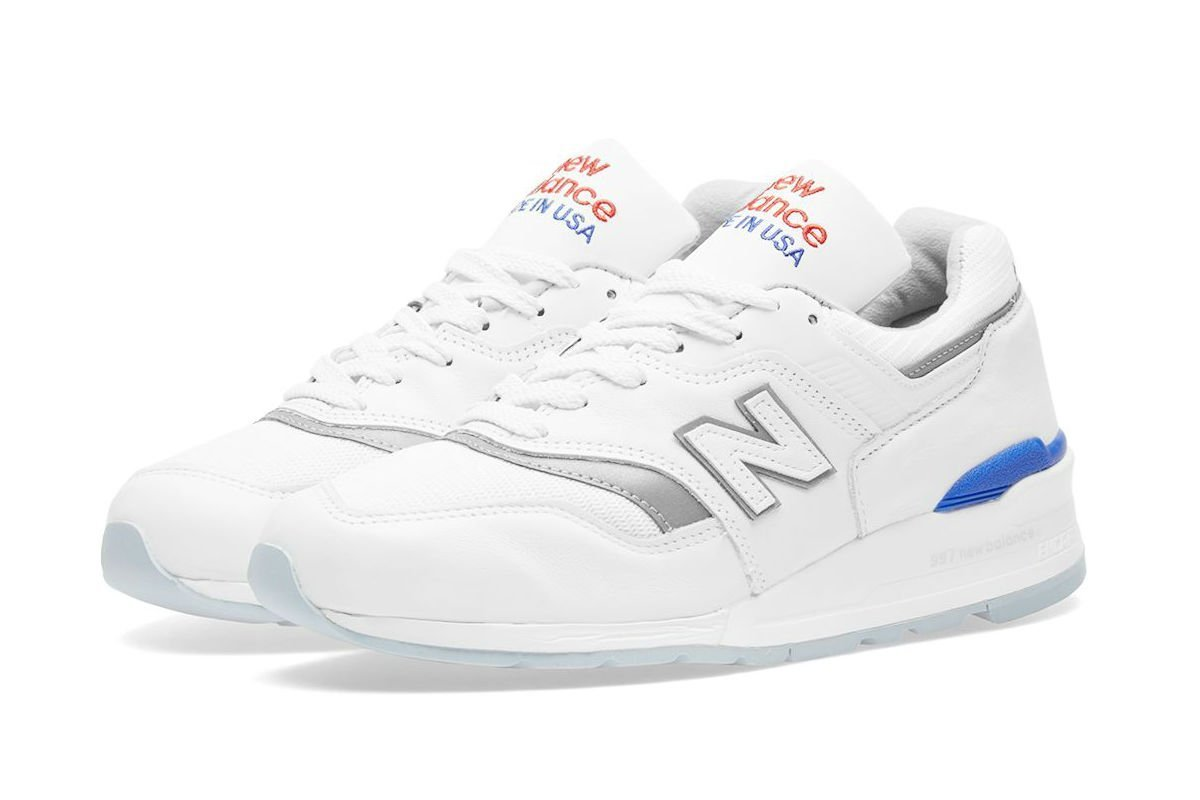 New Balance M997CHP White