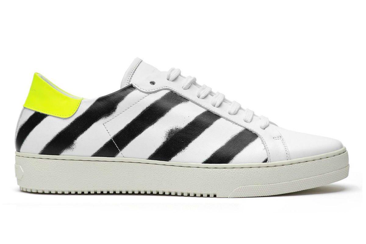 Off-White Spray Diagonal Sneakers