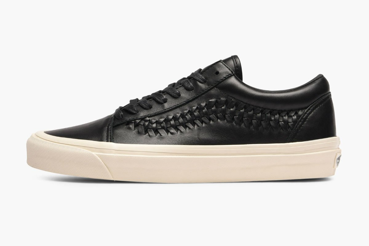 Vans Old Skool Weave DX Leather Black