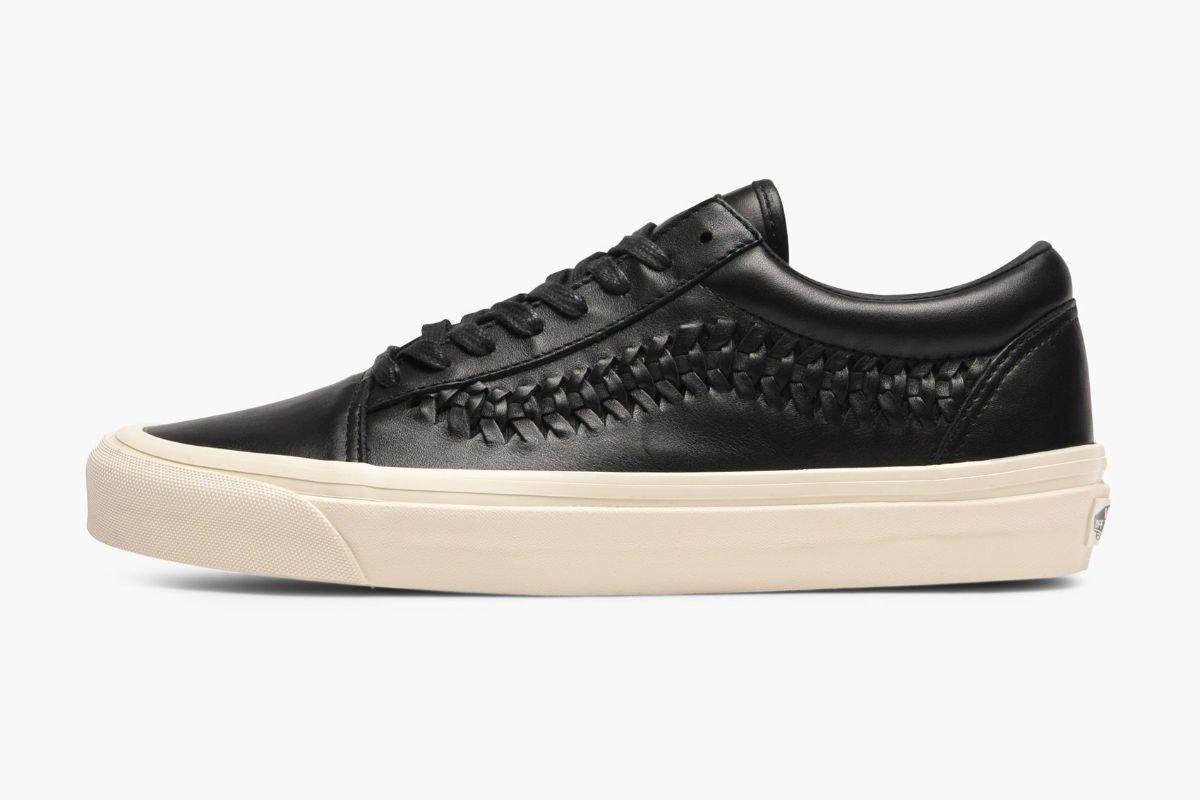Vans Old Skool Weave DX Leather Black