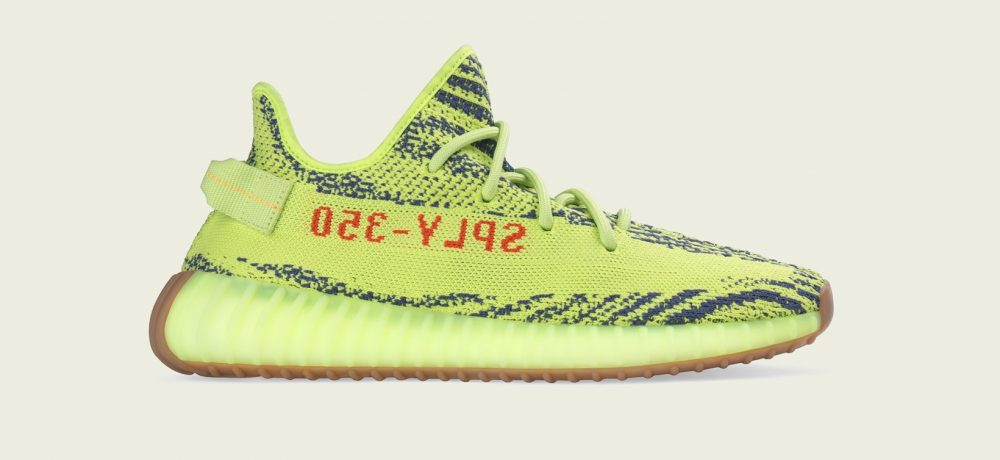 "adidas Originals YEEZY BOOST 350 V2 ""Semi Frozen Yellow"""