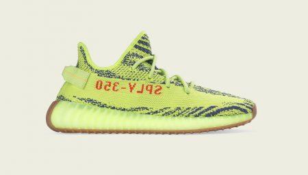 adidas Originals YEEZY BOOST 350 V2 Semi Frozen Yellow: a lista de lojas