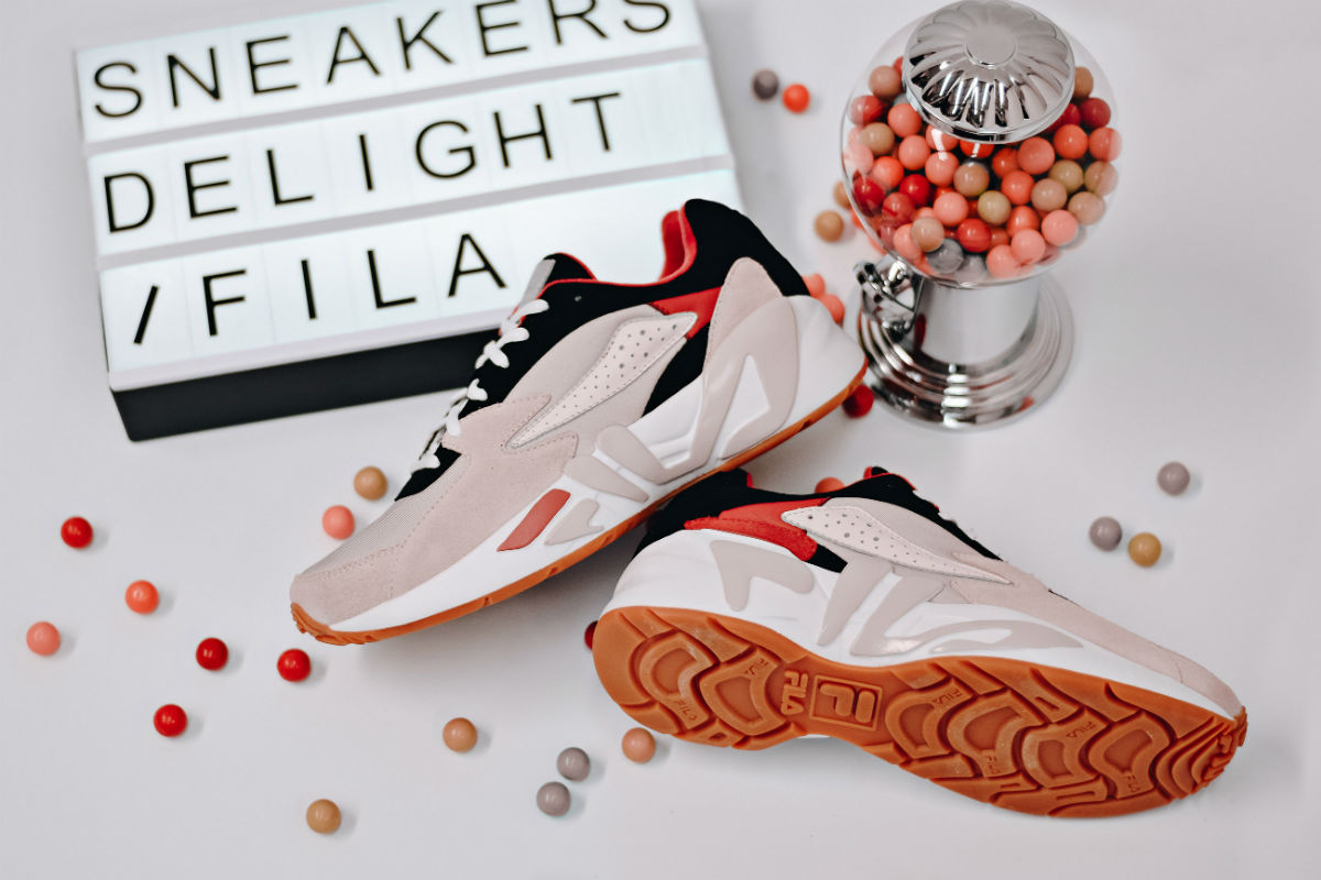 sneakers delight x fila mindblower