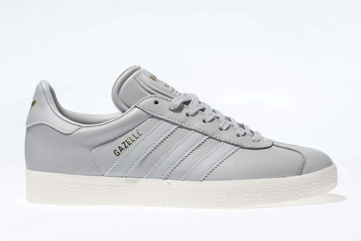 adidas Gazelle Light Grey Leather