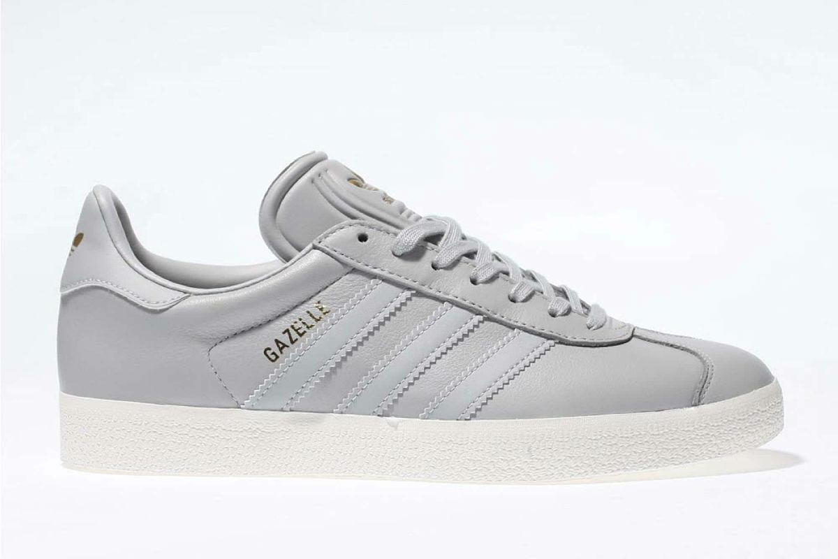 adidas Gazelle Light Grey Leather