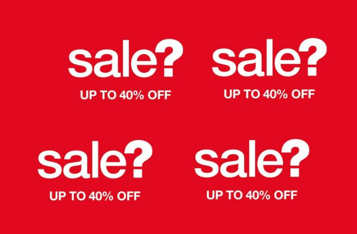 sale size