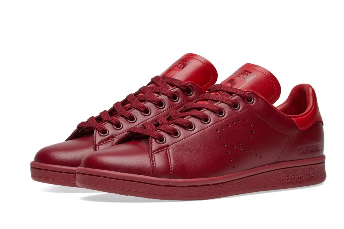 stan smith vermelhas