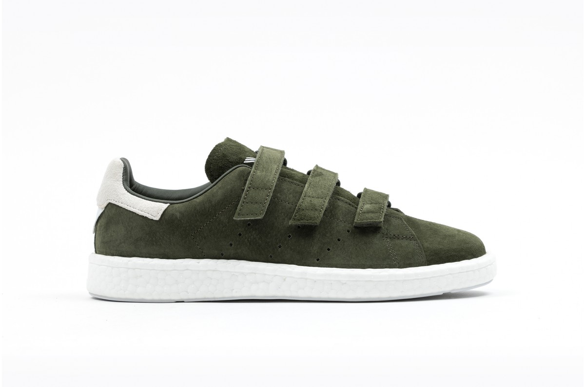 adidas Stan Smith Verdes (Velcro)