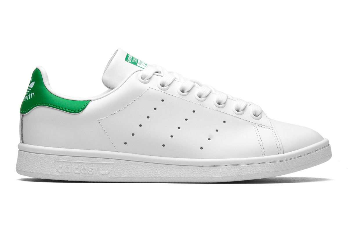 tenis adidas stan smith branco e verde