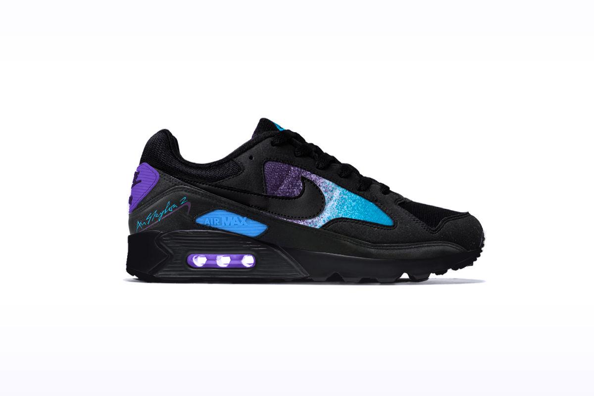 """Nike Air Skylon 2 x Airmax 90 """"Space Grape"""""""