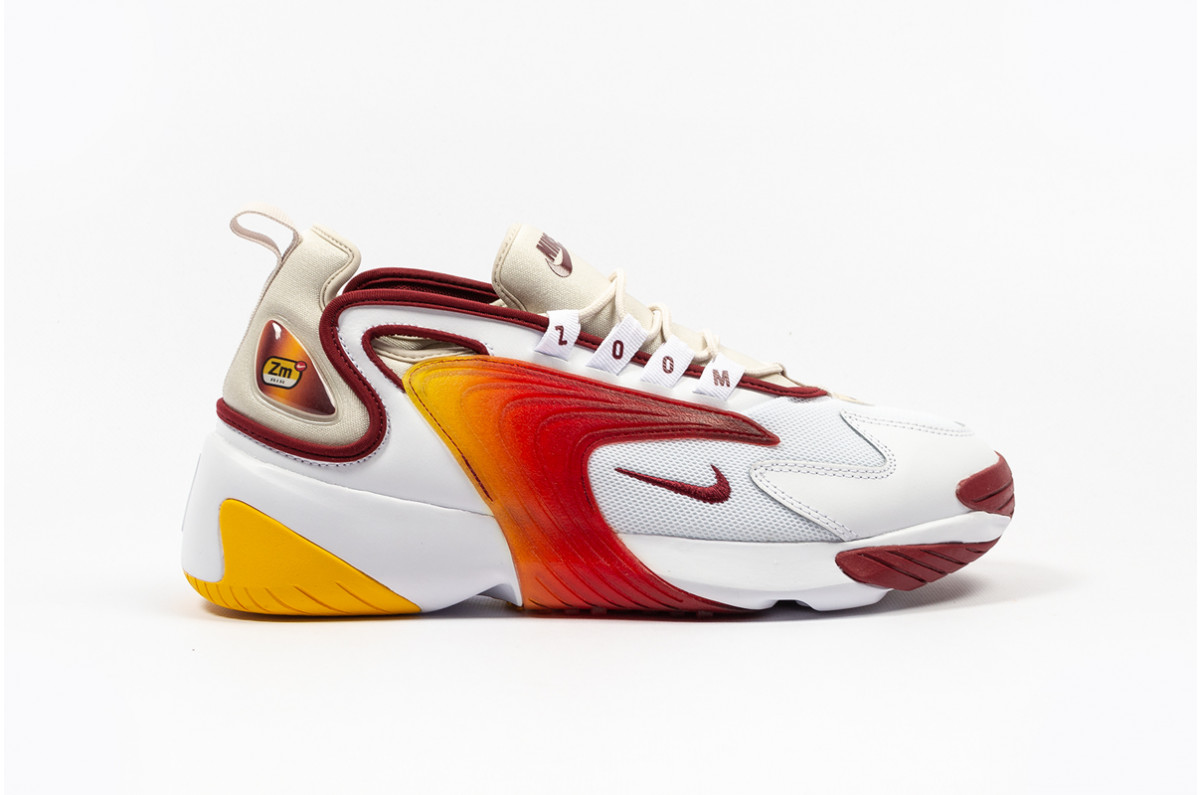 Nike Zoom 2K white team red
